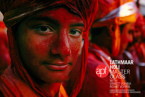APF Lathmaar Holi Master Class, 6th-8th Mar 2017, Including transfer