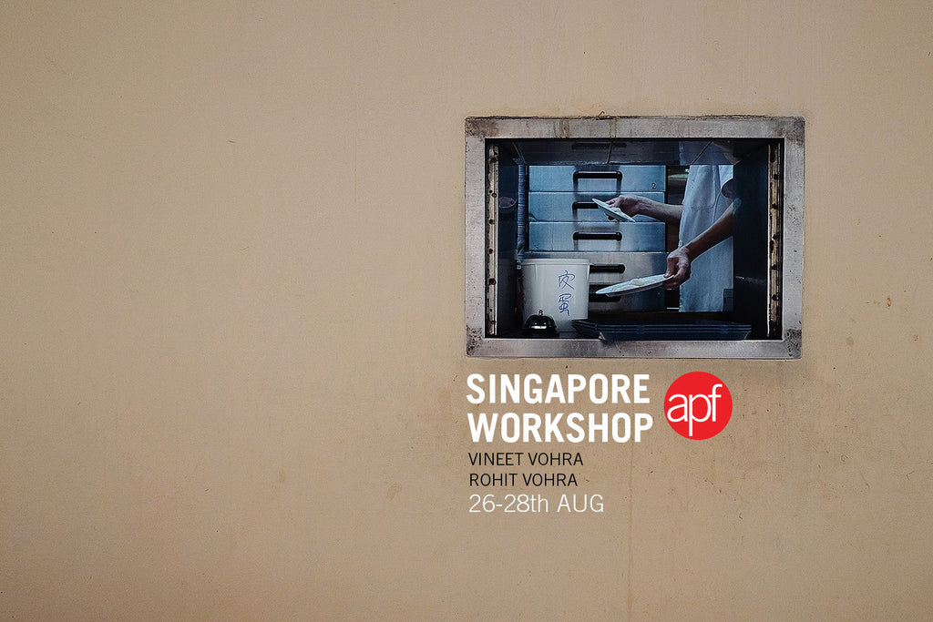 APF Visual Story telling workshop, Singapore 26th-28th Aug