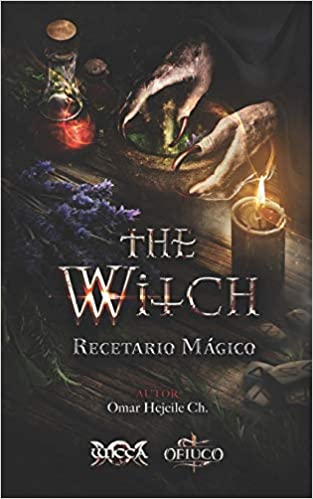 Libro Recetario Mágico THE WITCH