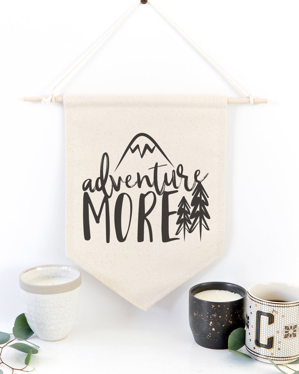 Adventure More Hanging Wall Banner - JD Ann Bees
