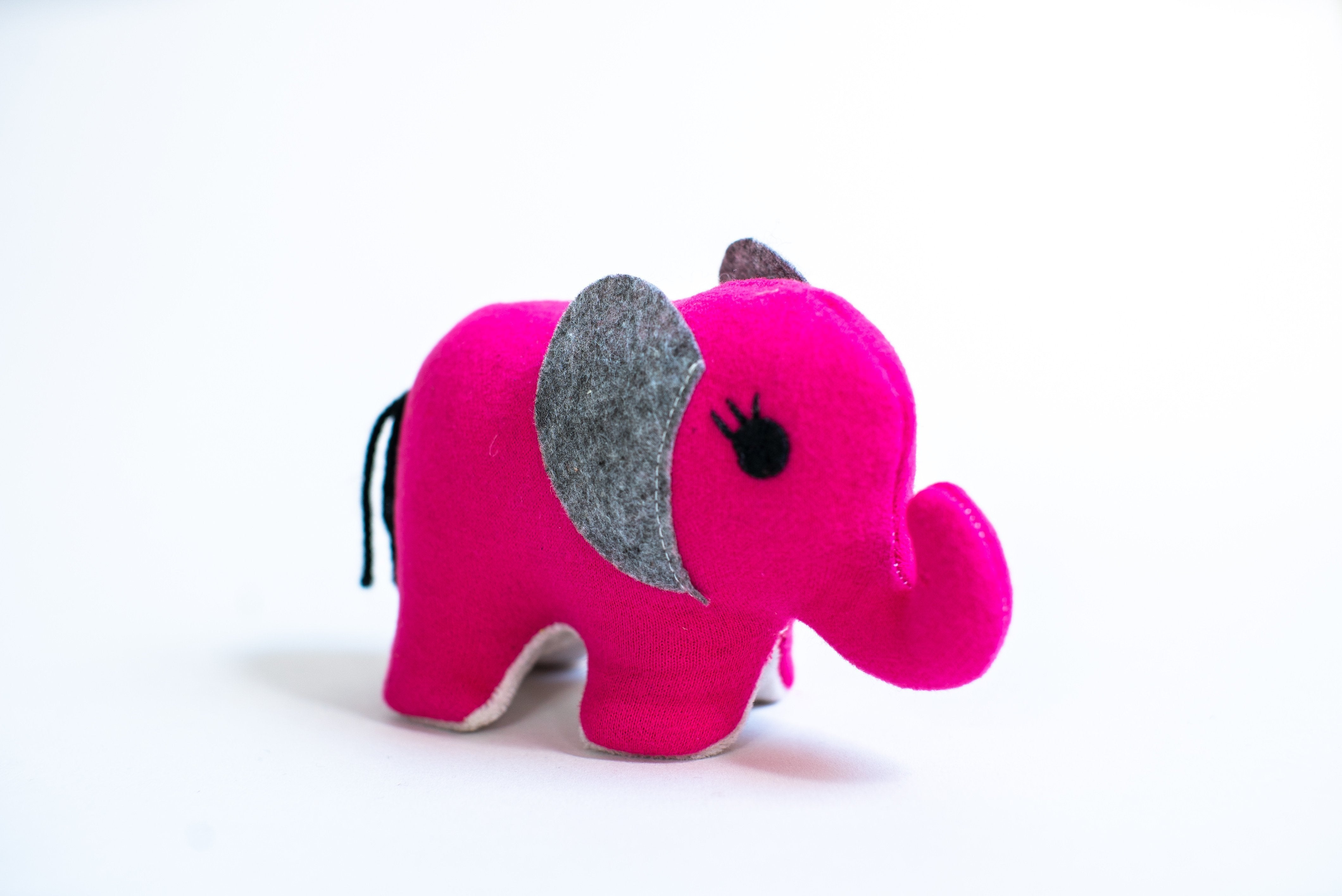 Small Elephant (Pink) - JD Ann Bees
