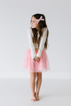 Baby and Toddler Tutu Skirts With Gold Stars Print - JD Ann Bees