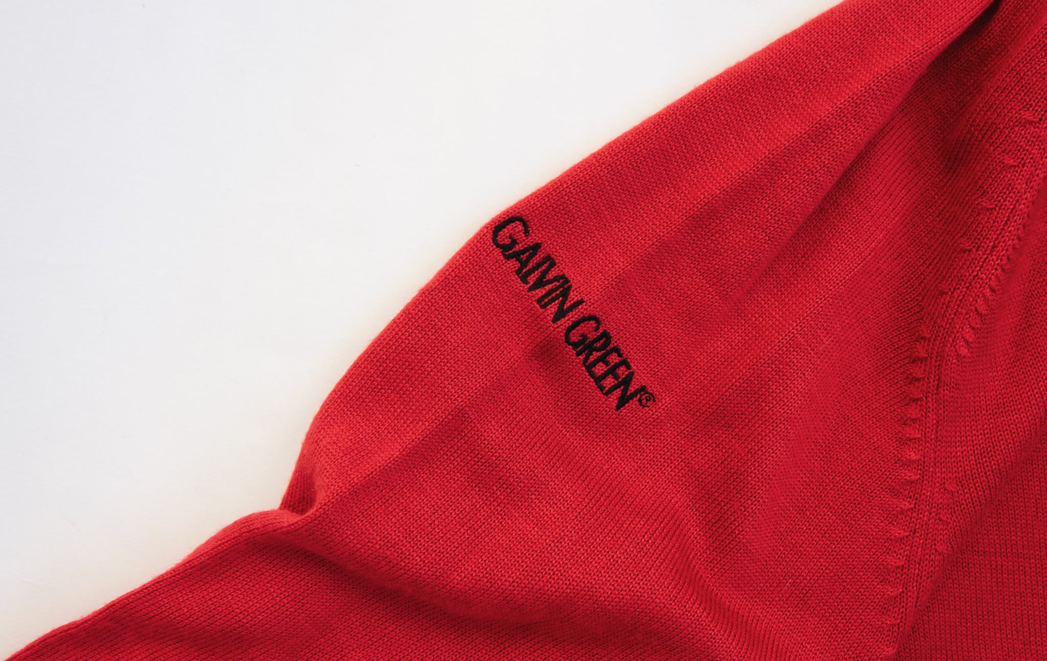 Red Galvin Green Sweater