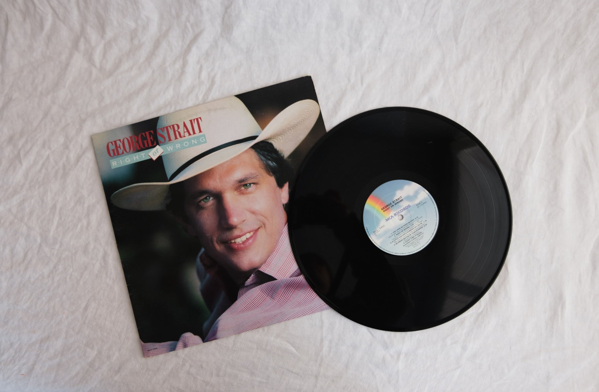 Right or Wrong by George Strait LP