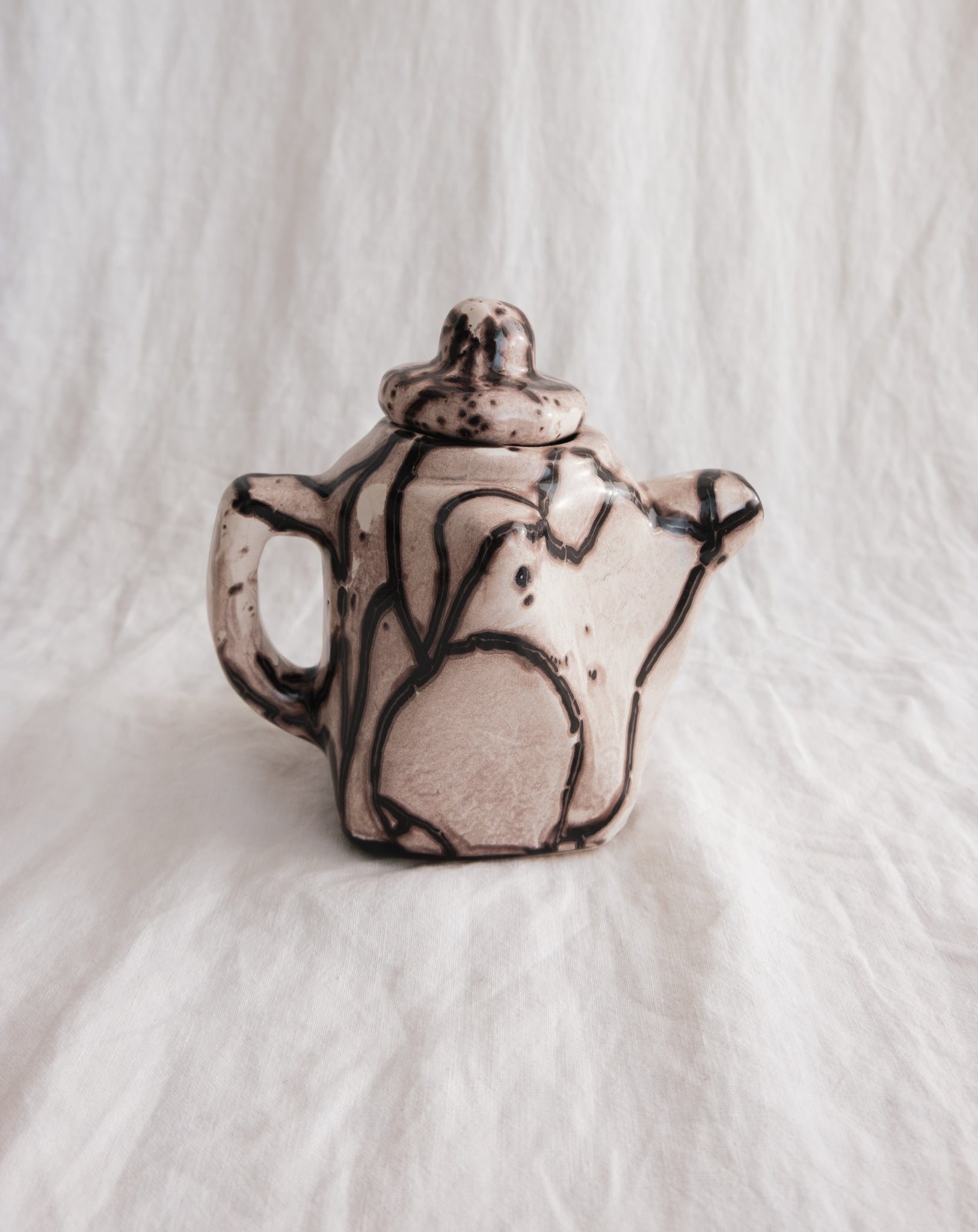 Pottery Tea Set