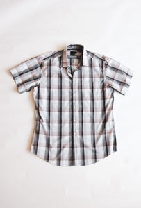 Men's Collared Button-up T-Shirt