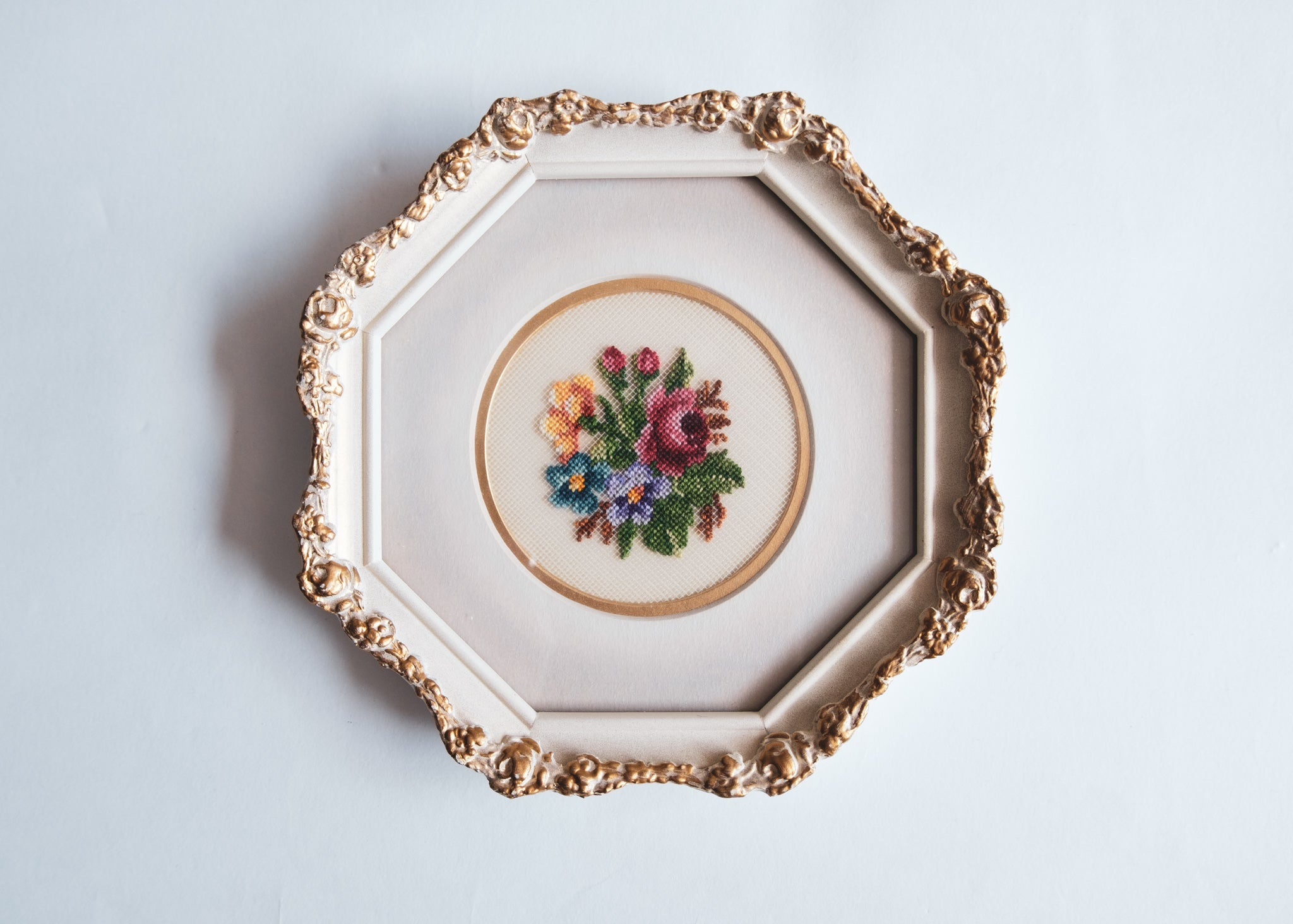 Floral Cross Stitch Set