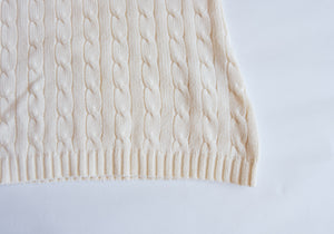 Knitted Cream Sweater