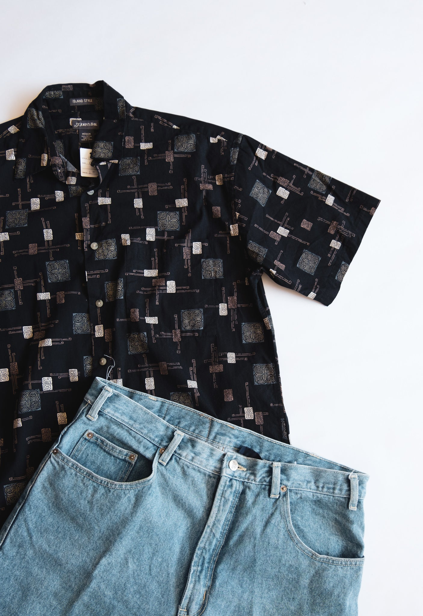 Your Dads Button Up Tee