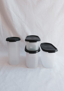 Tupperware Set - Black
