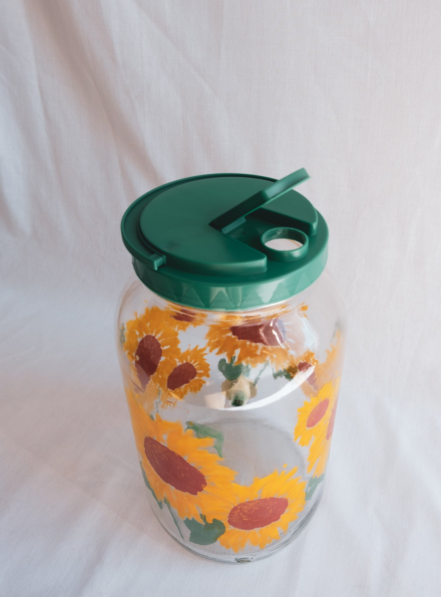 Sunflower Water Pitcher