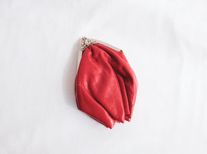 Cherry Small Red Clutch