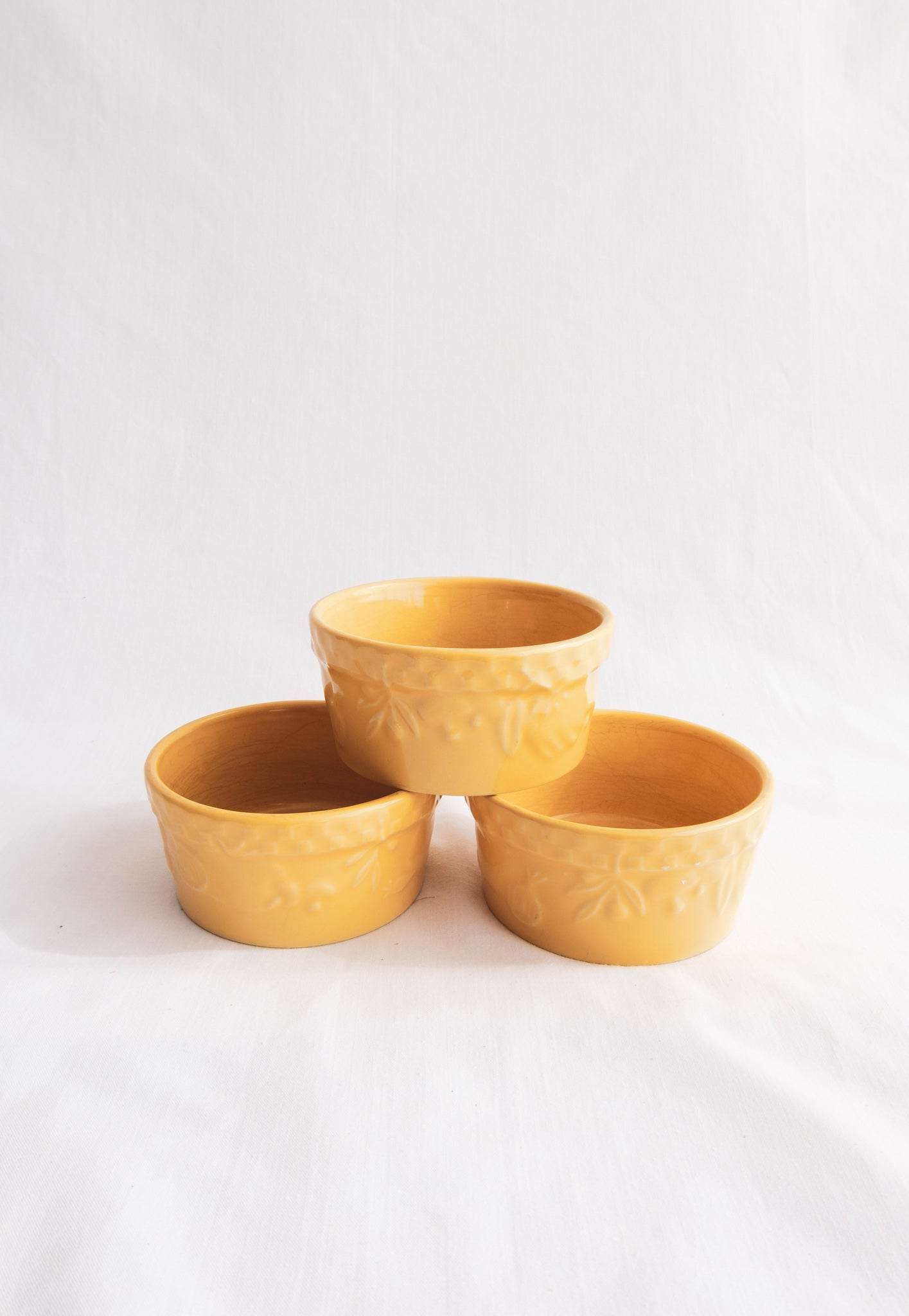 Mustard Yellow Dish Set