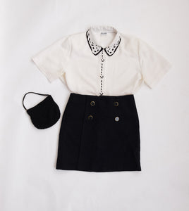 Collared Button-up