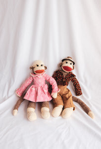 Sock-monkey Duo