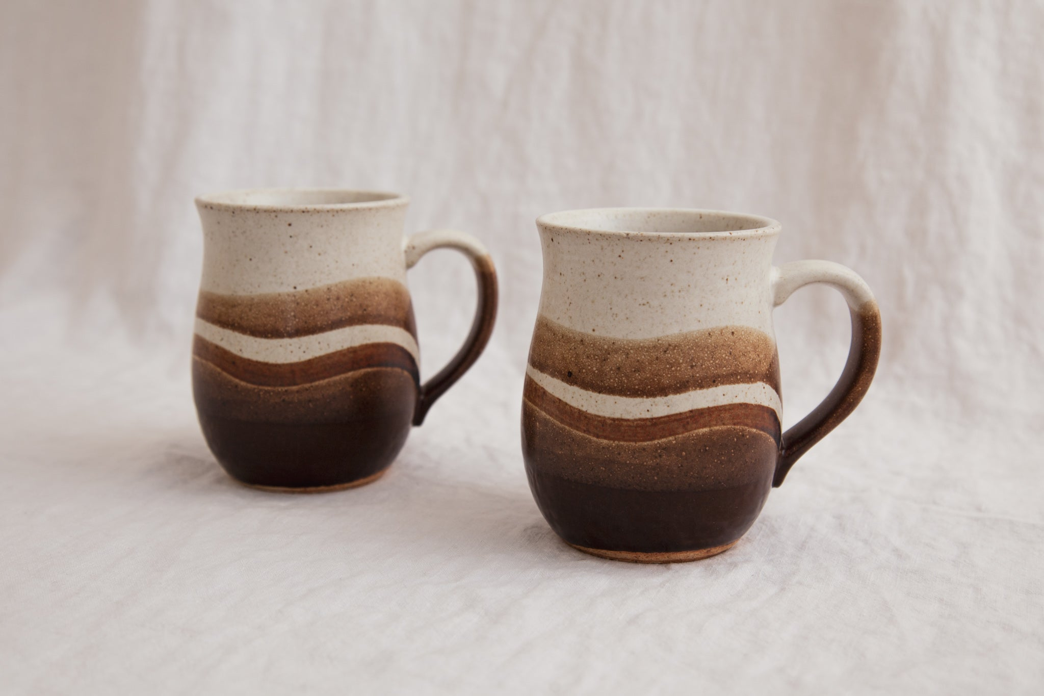Vintage Ceramic Pottery Mugs