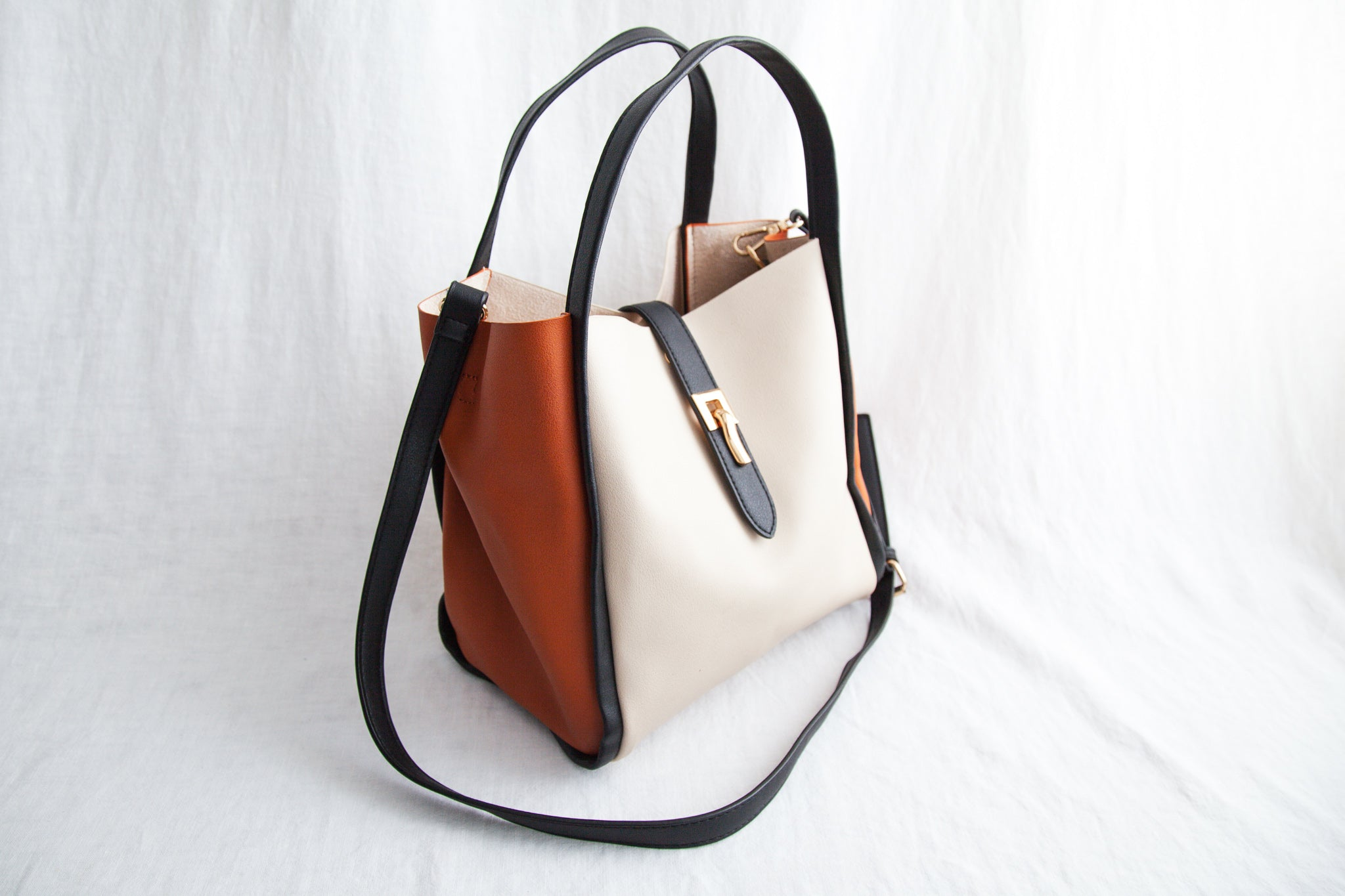 Tan & Terracota Handbag