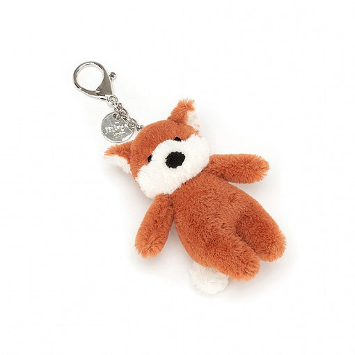 BASHFUL FOX BAG CHARM ... Fix on a flying fox!