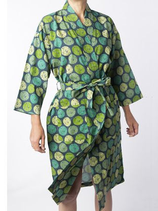 SNOWDROP ATLANTIC COTTON DRESSING GOWN