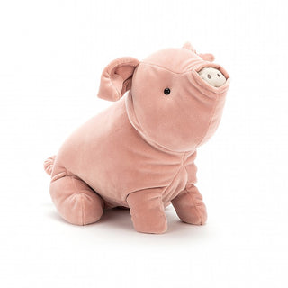 MELLOW MALLOW PIG, LARGE ... Trotters, truffles and snuggles!