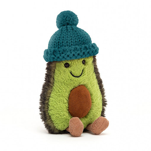 AMUSEABLE COZI AVOCADO, TEAL ... That's a brrriliant bobble hat