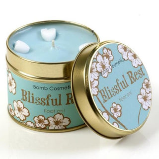 BLISSFUL REST TINNED CANDLE