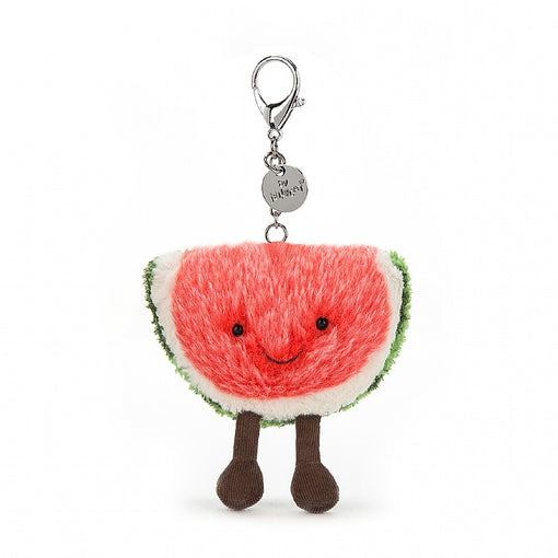 WATERMELON BAG CHARM ... A little luggage lift.