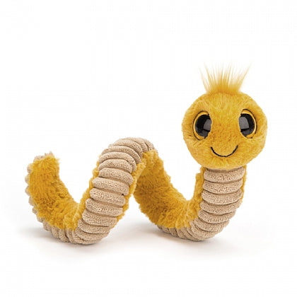 WIGGLY WORM YELLOW ... Worm hard, play hard!