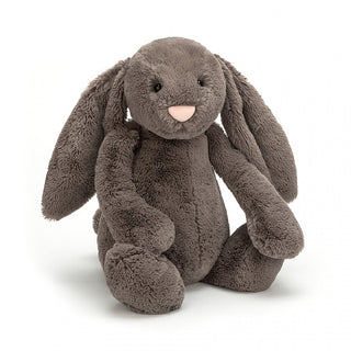 BASHFUL TRUFFLE BUNNY, HUGE ... Mocha cuddles from a cocoa cutie.