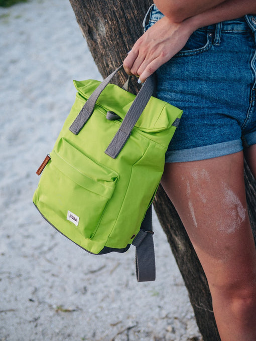 LIME ROKA CANFIELD B SMALL RUCKSACK