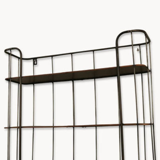 GRANVILLE TALL METAL SHELF UNIT