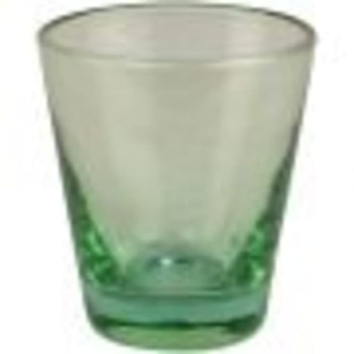 OCEANA RECYCLED GLASS WATER TUMBLER, GREEN