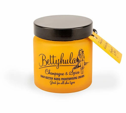 BETTY HULA CHAMPAGNE & SPICE SHEA BUTTER BODY MOISTURISING CREAM