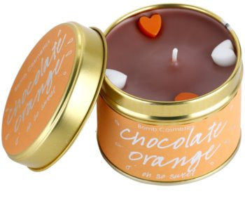 CHOCOLATE ORANGE TINNED CANDLE