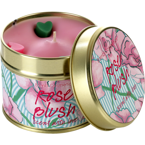 ROSE BLUSH TIINED CANDLE