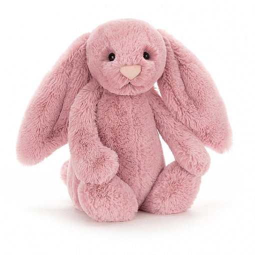 BASHFUL TULIP PINK BUNNY, MEDIUM ... Hiding in the flowerbed? We can see that flopsy head!