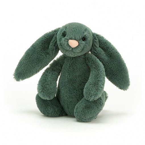 BASHFUL FOREST BUNNY, SMALL... Loveably leafy!