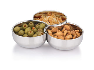 SET OF 3 LINK SNACK BOWLS