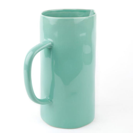 SMALL MINT CERAMIC JUG