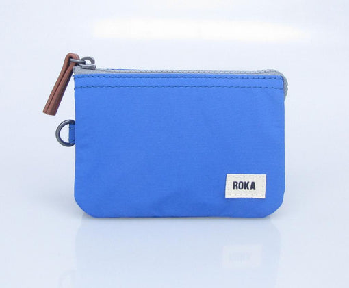 MED BLUE ROKA CARNABY WALLET... A little Roka goes a long way.