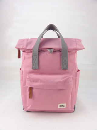 ANTIQUE PINK ROKA CANFIELD B SMALL RUCKSACK