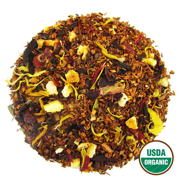 Organic Blood Orange Rooibos Wholesale (by the pound)  -  Loose Leaf Tea  -  Full Leaf Tea Company