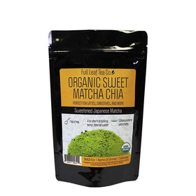 Organic Sweet Matcha Chia Retail Bags - Case of 6