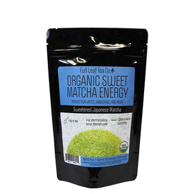 Organic Sweet Matcha Energy Retail Bags - Case of 6