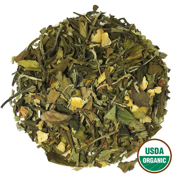 Organic Lemon Turmeric Tea Wholesale (by the pound)  -  Loose Leaf Tea  -  Full Leaf Tea Company