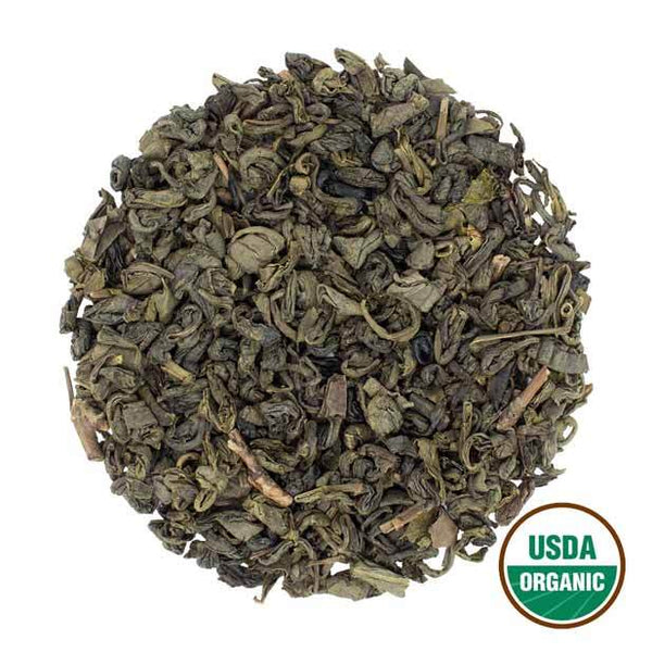 Organic Gunpowder Green Wholesale (by the pound)  -  Loose Leaf Tea  -  Full Leaf Tea Company