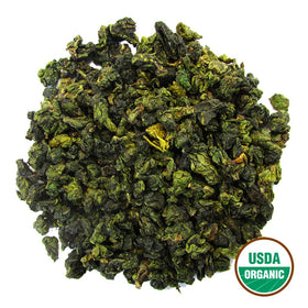 Organic Green Oolong Bulk (by the pound)