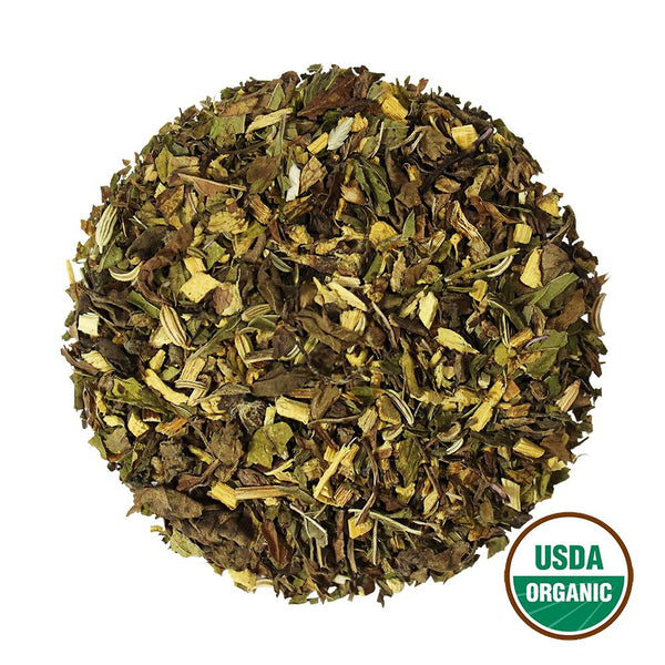 Organic Herbal Comfort Wholesale (by the pound)  -  Loose Leaf Tea  -  Full Leaf Tea Company