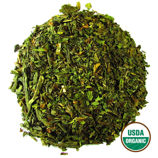 Organic Mint Bliss Wholesale (by the pound)  -  Loose Leaf Tea  -  Full Leaf Tea Company