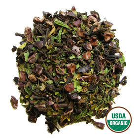 Organic Mint Cocoa Pu-Erh Bulk (by the pound)